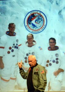 An Evening with Col. Al. Worden Command Module Pilot, Apollo 15 @ Aberdare Coliseum