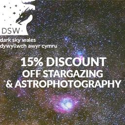 dark sky wales astronomy planetarium stargazing astrophotography discount gift vouchers